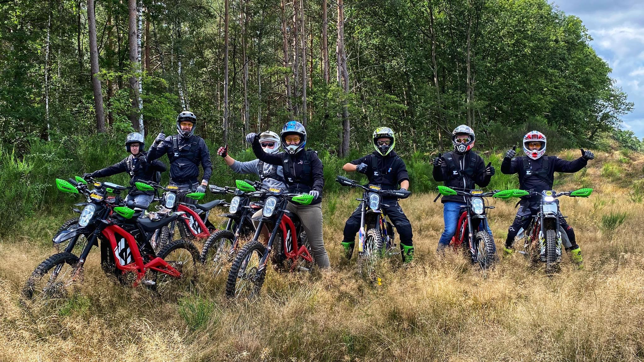 elektirsch offroad rijden E-tour Sur-ron Endurofun 14