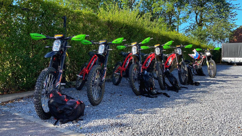elektirsch offroad rijden E-tour Sur-ron Endurofun 15