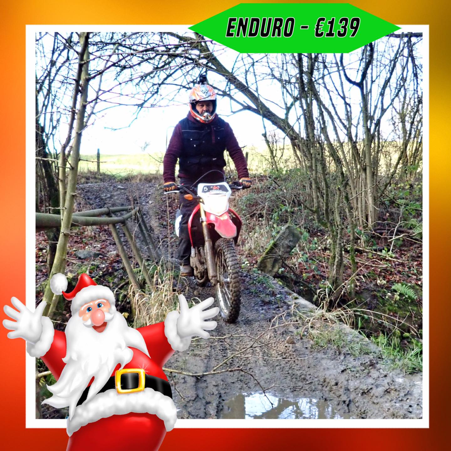 Kerst-initiaties Bilstain Endurofun 13