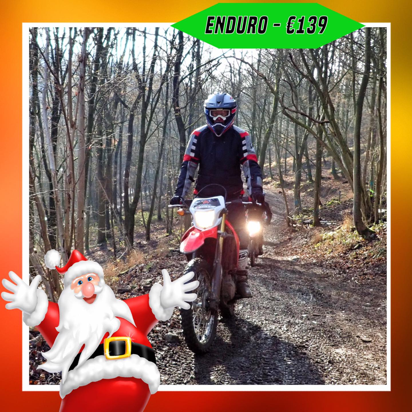 Kerst-initiaties Bilstain Endurofun 14
