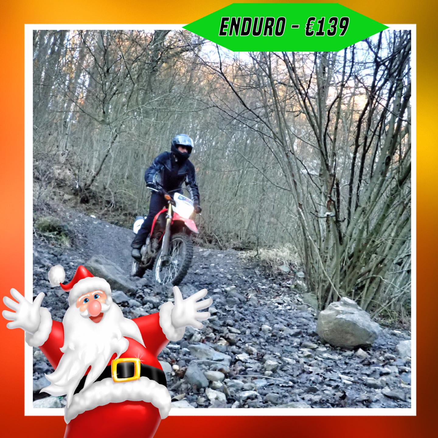 Kerst-initiaties Bilstain Endurofun 22