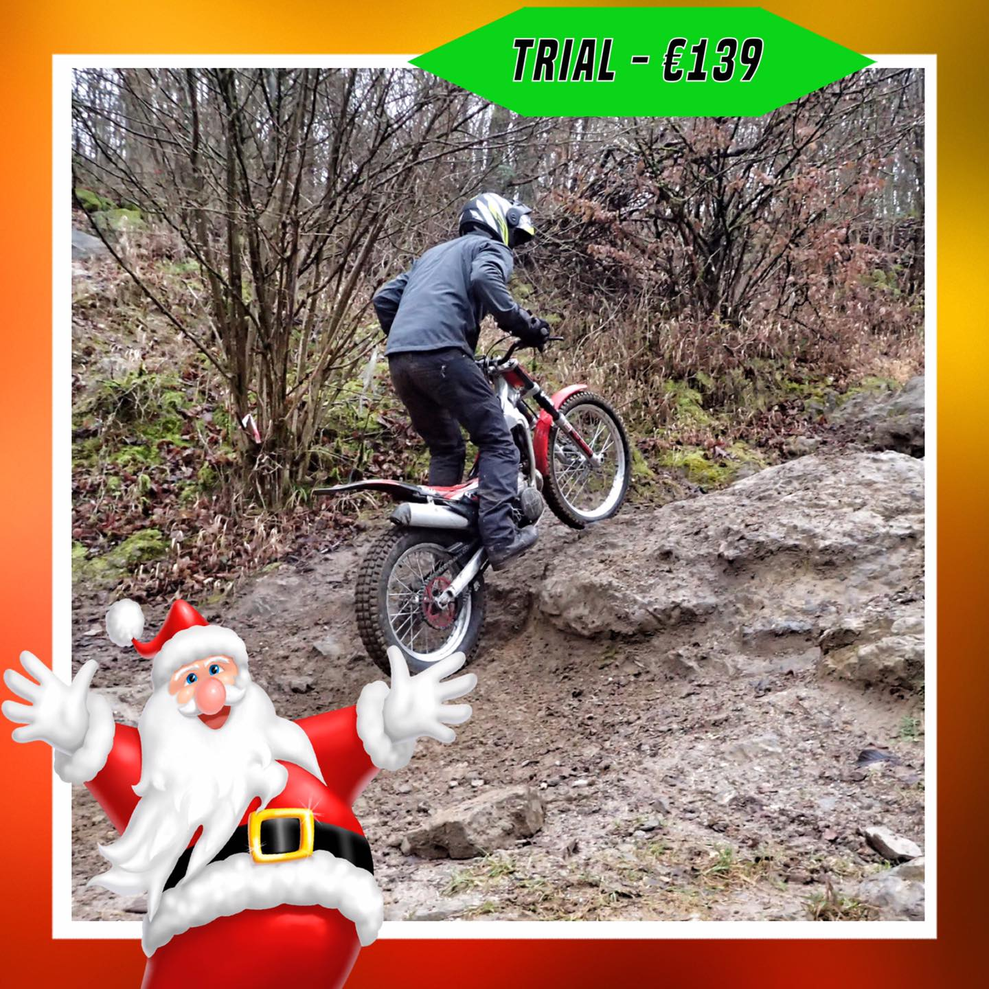 Kerst-initiaties Bilstain Endurofun 27