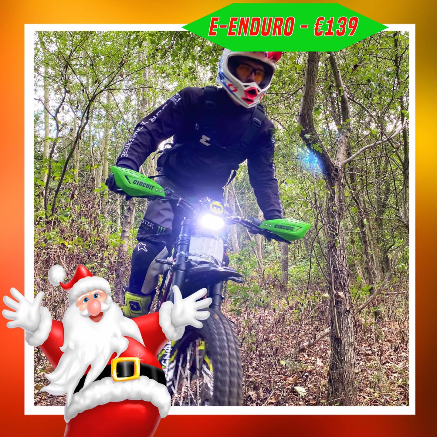 Kerst-initiaties Bilstain Endurofun 3