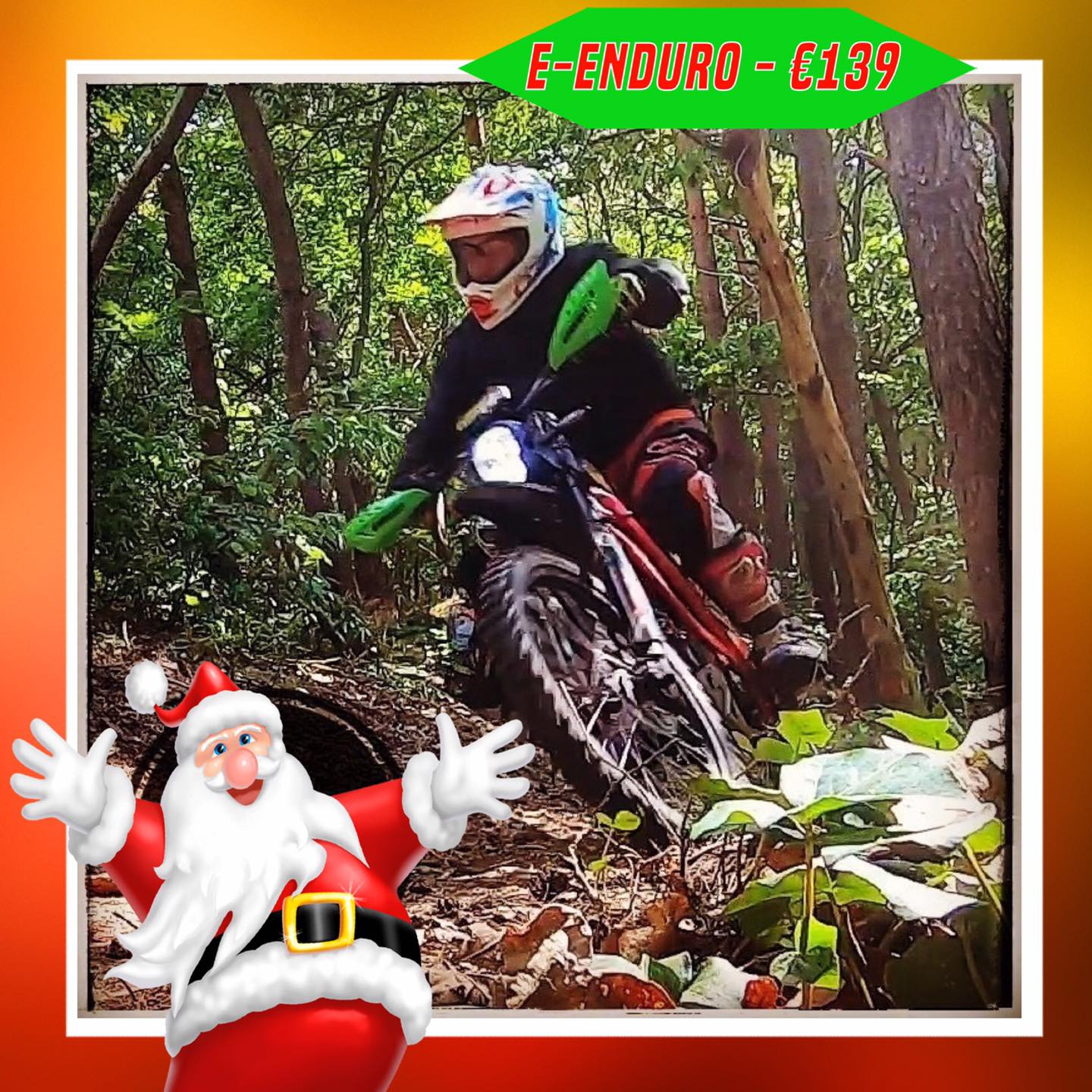 Kerst-initiaties Bilstain Endurofun 4