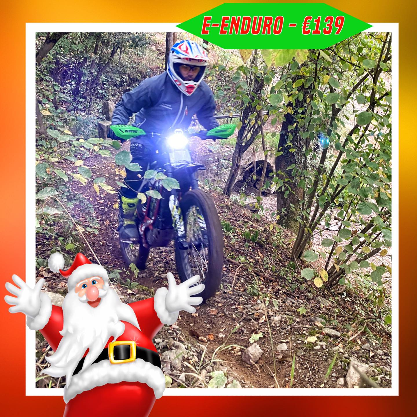 Kerst-initiaties Bilstain Endurofun 42 Surron