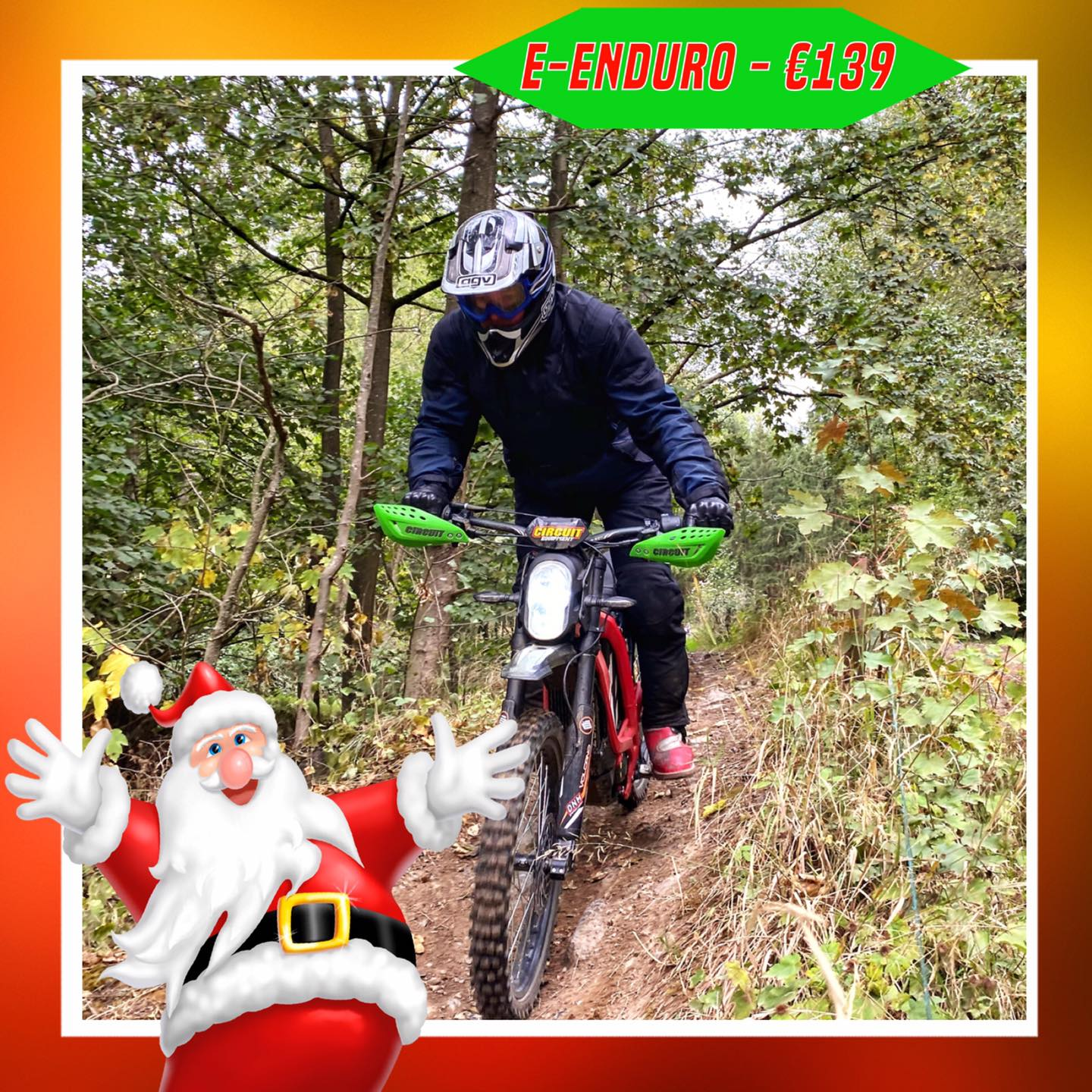 Kerst-initiaties Bilstain Endurofun 45 Surron