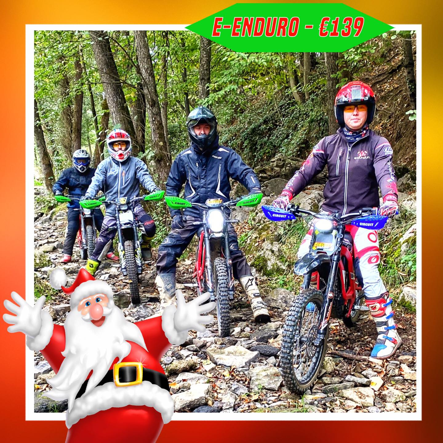 Kerst-initiaties Bilstain Endurofun 46 Surron