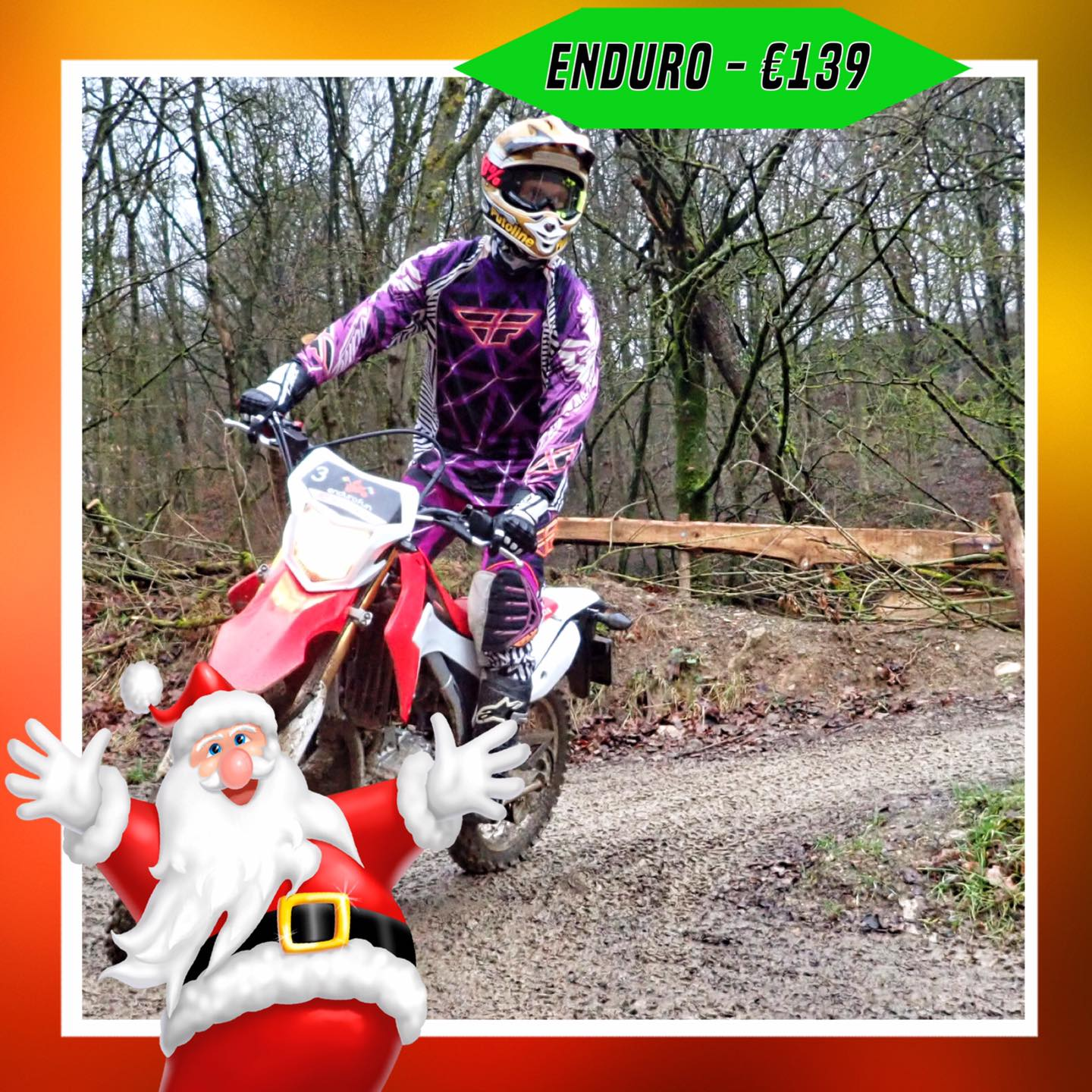 Kerst-initiaties Bilstain Endurofun 9